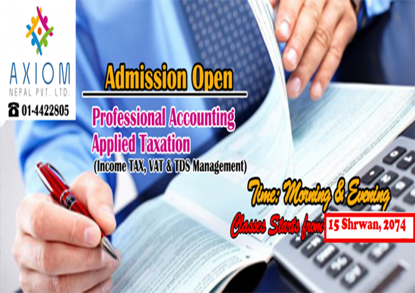 Accounting & Taxation Training
