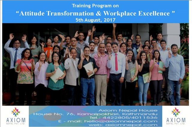 Attitude Transformation & Workplace Excellence