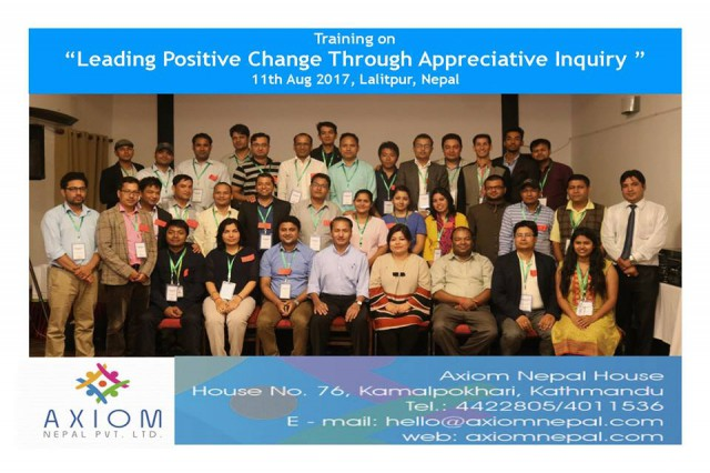 Leading Positive Change through Appreciative Inquiry
